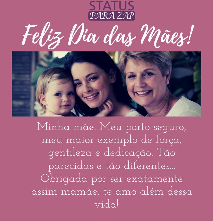 Texto em homenagem ao Dia das Mães...
