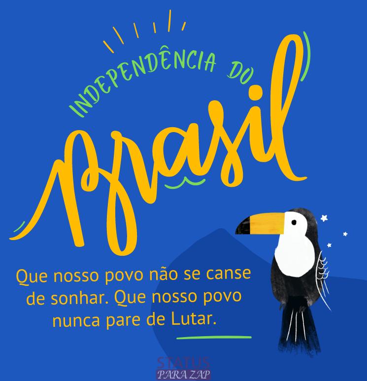Mensagem do dia da Independência do Brasil
